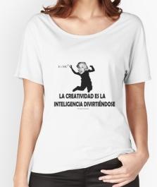 camiseta ancha mujer