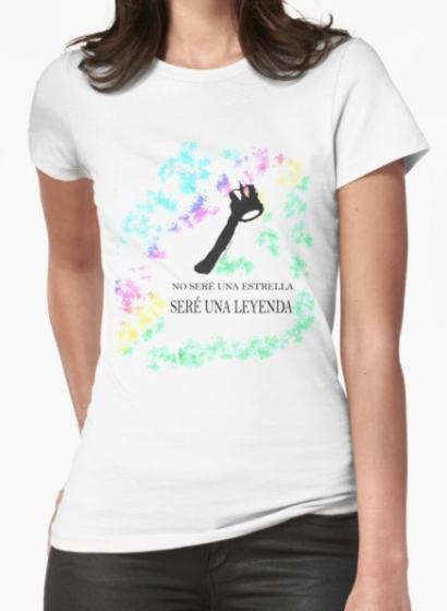 camiseta clasica mujer