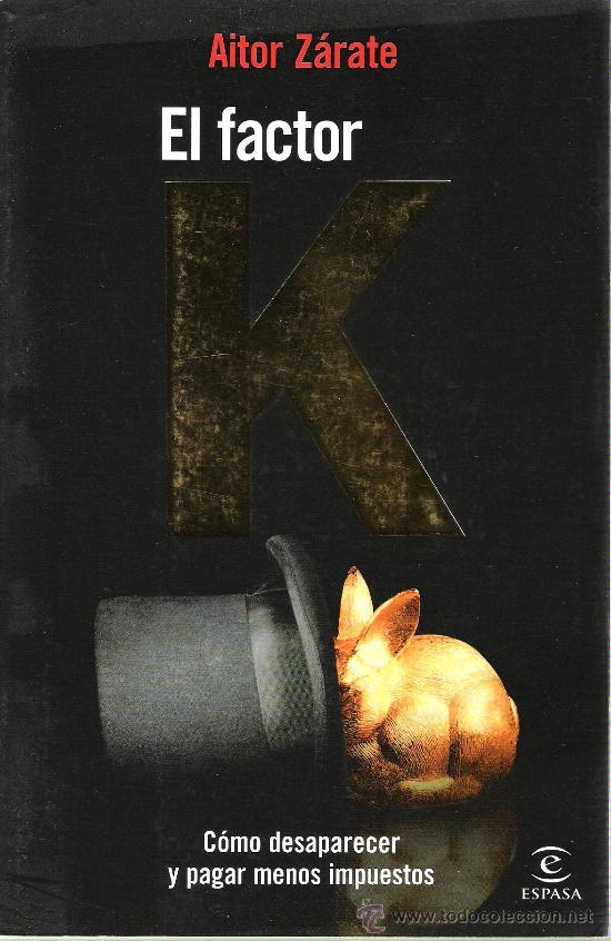 libro el Factor K de Aitor Zárate